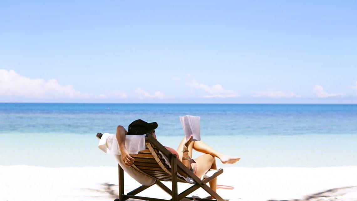 vacation on a beach