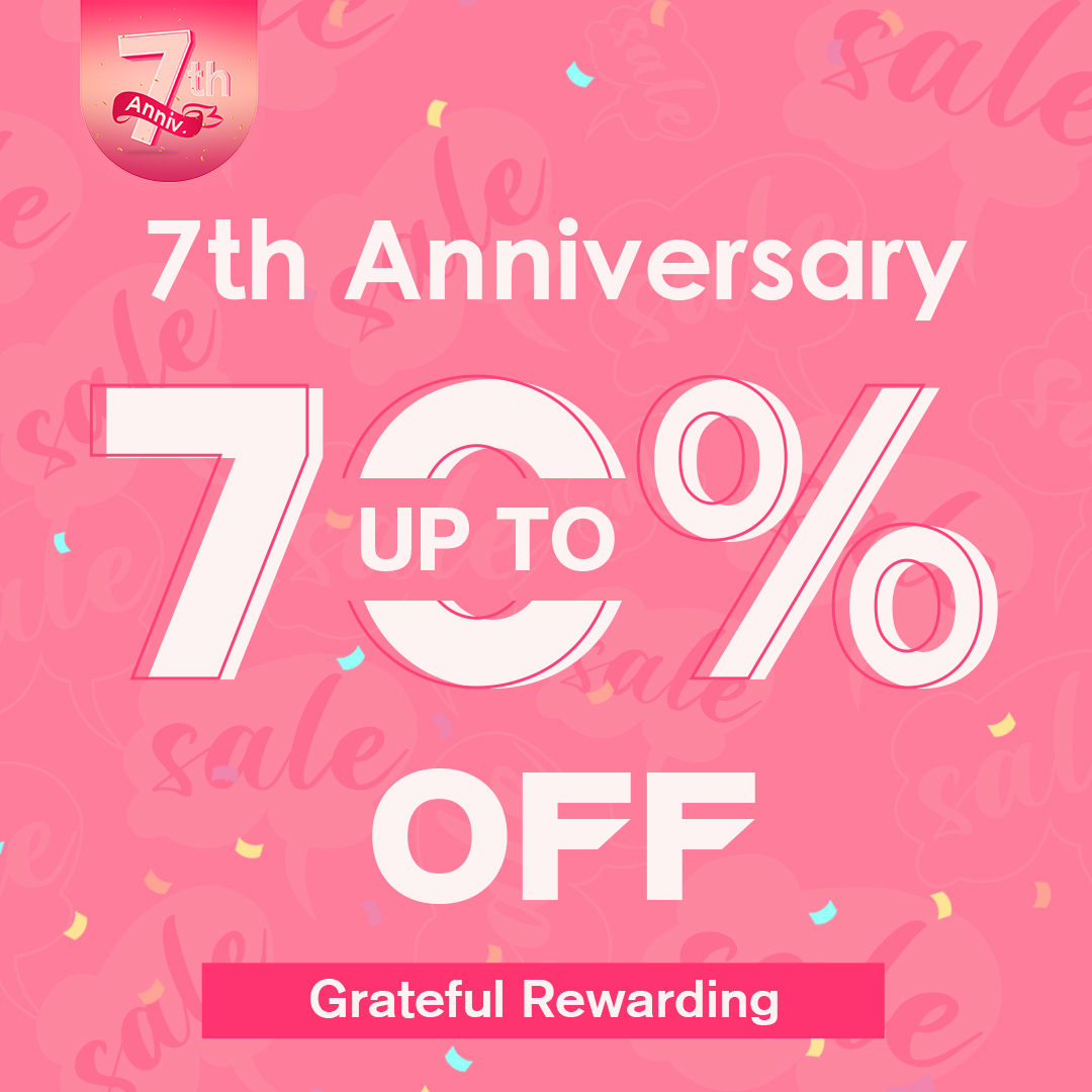 Newchic 7th Anniversary Special Offer